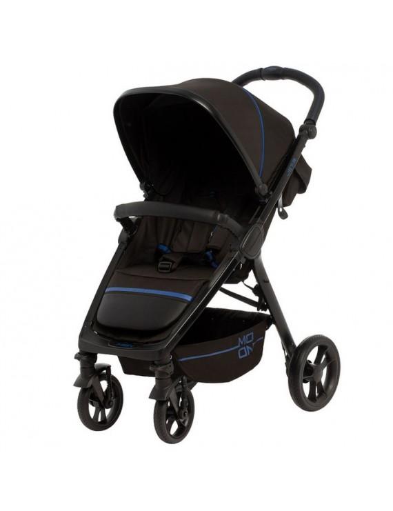 Коляска Moon Jet R Blue (Baby Trade)