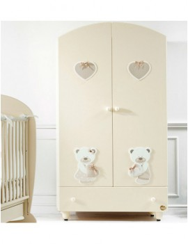 Шкаф Baby Expert Bon Bon кремовый