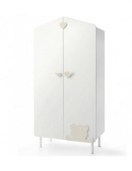 Шкаф Baby Expert Casetta бело-кремовый
