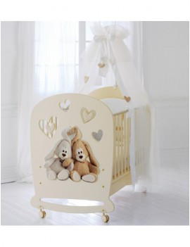 Детская кровать Cremino by Trudi крем