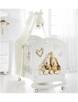 Детская кровать Cremino by Trudi белая