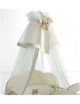 Балдахин для кровати Abbracci by Trudi белый с кремовым