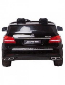 Детский электромобиль Mercedes Benz GLS63 LUXURY 4WD 12V MP4 - Black - HL228-LUX-MP4