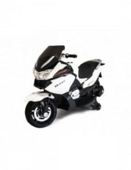 Детский электромобиль мотоцикл BMW R1200RT Белый 12V