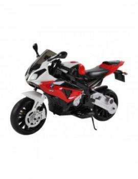 Детский электромобиль мотоцикл BMW S1000PR на аккумуляторе 12V цвет красный