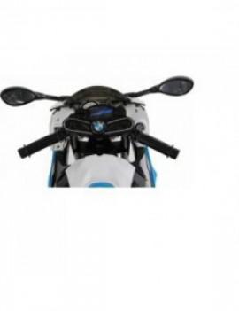 Детский электромобиль мотоцикл BMW S1000PR на аккумуляторе 12V цвет синий