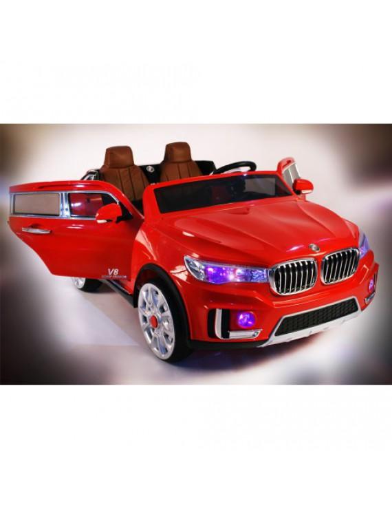 Детский двухместный электромобиль BMW X7 M333MM с дистанционным управлением