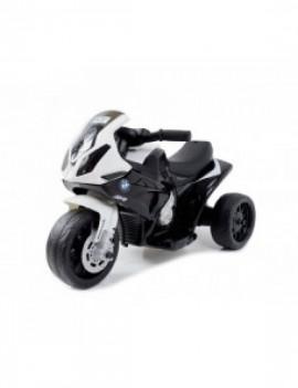 Детский электромотоцикл BMW S1000RR Black (трицикл, 6V) - JT5188