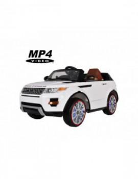 Детский электромобиль Range Rover Luxury White MP4 12V - SX118-S