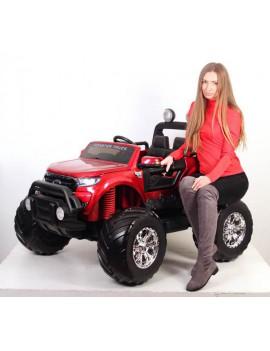 Электромобиль FORD RANGER MONSTER TRUCK 4WD DK-MT550 вишневый (Rivertoys)