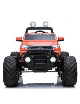 Электромобиль FORD RANGER MONSTER TRUCK 4WD DK-MT550 оранжевый (Rivertoys)