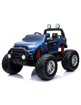 Электромобиль FORD RANGER MONSTER TRUCK 4WD DK-MT550 синий (Rivertoys)