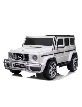 Электромобиль Mercedes-AMG G63 4WD (S307) белый (Rivertoys)