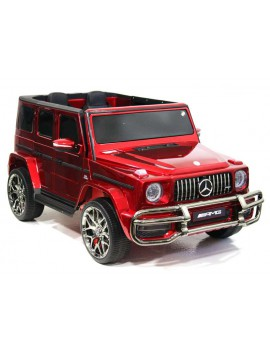 Электромобиль Mercedes-AMG G63 4WD (S307) вишневый (Rivertoys)