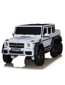Электромобиль Mercedes-Benz G63 AMG 4WD P777PP белый (Rivertoys)