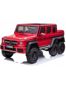 Электромобиль Mercedes-Benz G63 AMG 4WD P777PP красный (Rivertoys)