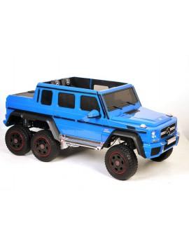 Электромобиль Mercedes-Benz G63 AMG 4WD P777PP синий (Rivertoys)