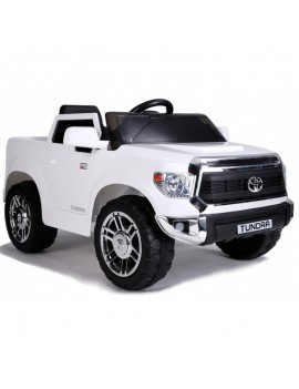 Электромобиль TOYOTA TUNDRA JJ2125 белый (Rivertoys)