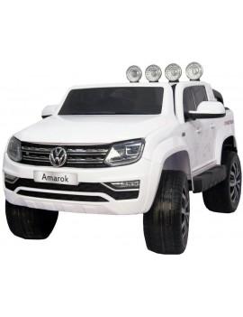 Электромобиль VOLKSWAGEN AMAROK M999MM белый (Rivertoys)