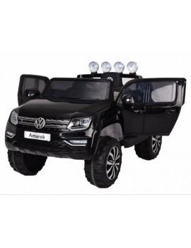 Электромобиль VOLKSWAGEN AMAROK M999MM черный (Rivertoys)