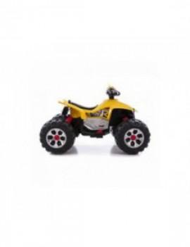 Детский квадроцикл на аккумуляторе 12V цвет желтый