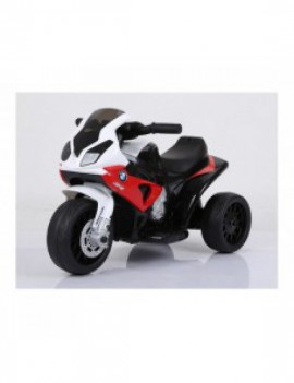 Детский электромотоцикл BMW S1000RR Red (трицикл, 6V)