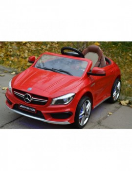 Детский электромобиль Mercedes-Benz CLA45 A777AA (ЛИЦЕНЗИОННАЯ МОДЕЛЬ) с дистанционным управлением