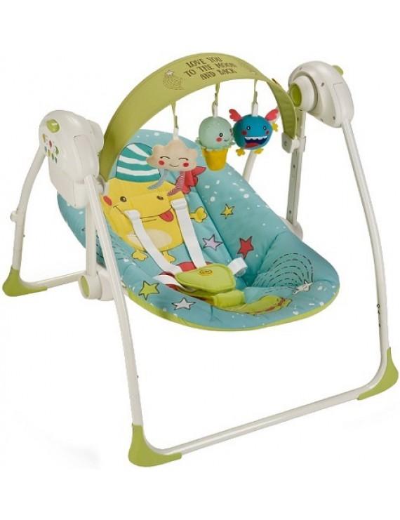 Электрокачели Happy Baby Jolly, Blue