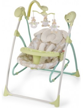 Электрокачели Happy Baby Luffy, Green