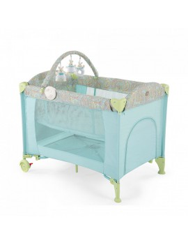 Кровать-манеж Happy Baby Lagoon V2, Blue