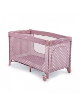 Кровать-манеж Happy Baby Martin New, Rose