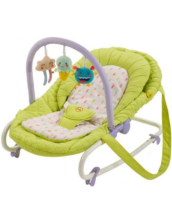 Шезлонг Happy Baby Nesty, Green