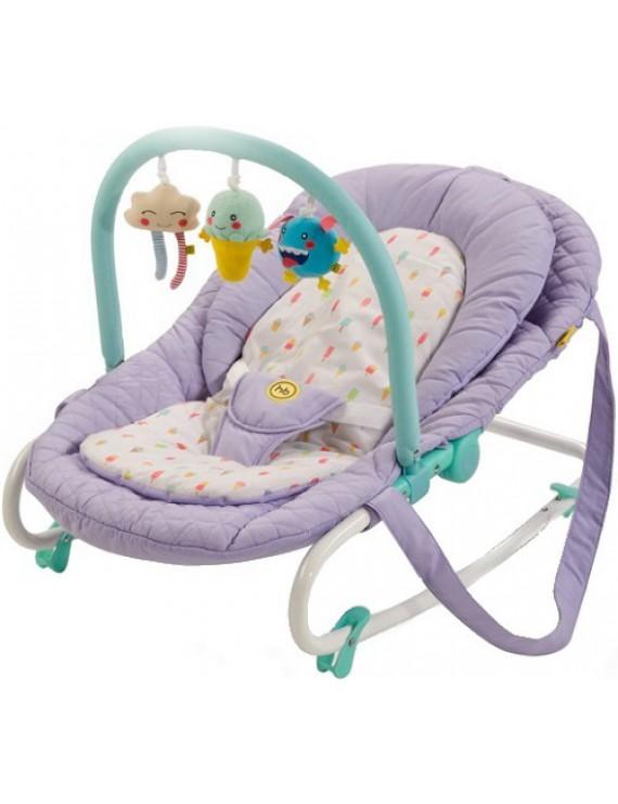 Шезлонг Happy Baby Nesty, Violet
