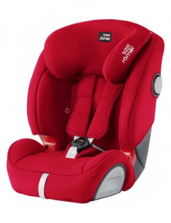Детское автокресло Britax Roemer Evolva 1-2-3 SL SICT (группа 1-2-3, от 9 до 36 кг) Fire Red