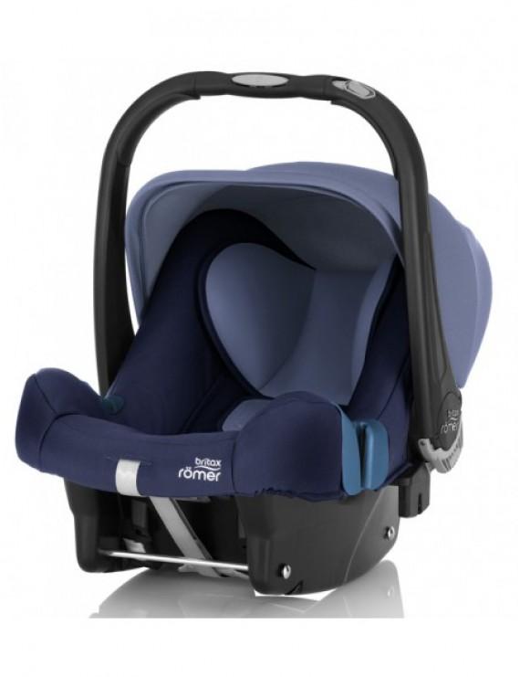 Детское автокресло Britax Roemer Baby-Safe plus SHR II (группа 0+, до 13 кг) Moonlight Blue