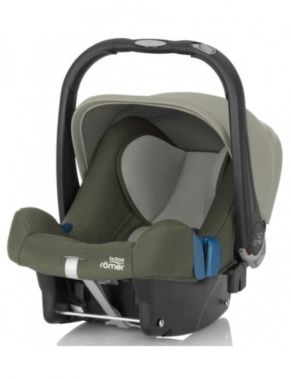 Детское автокресло Britax Roemer Baby-Safe plus SHR II (группа 0+, до 13 кг) Olive Green
