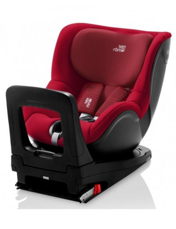 Детское автокресло Britax Roemer Dualfix i-Size Flame Red