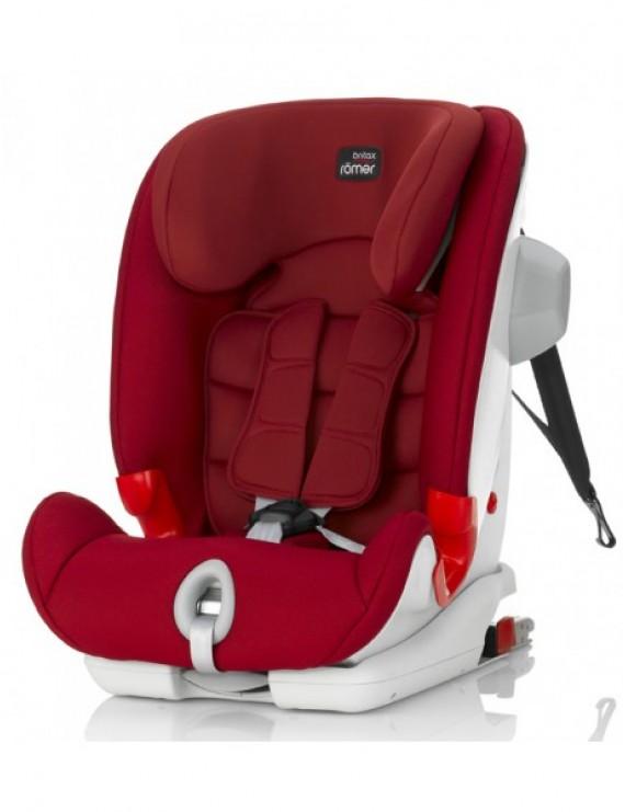 Детское автокресло Britax Roemer Advansafix III SICT (группа 1-2-3, от 9 до 36 кг) Flame Red