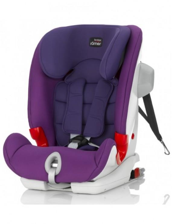 Детское автокресло Britax Roemer Advansafix III SICT (группа 1-2-3, от 9 до 36 кг) Mineral Purple