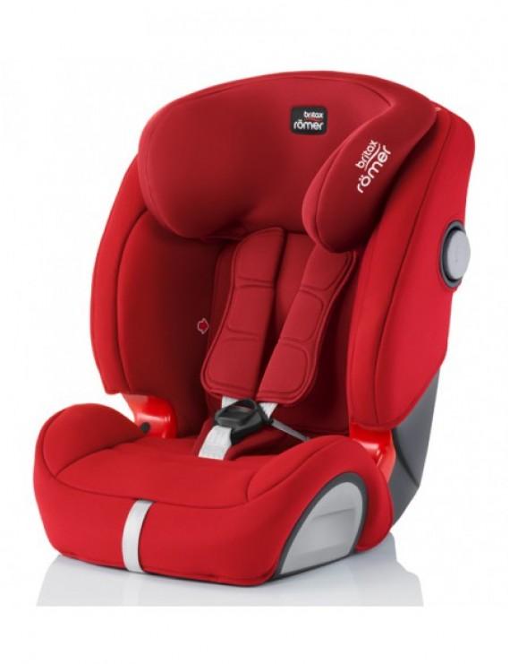 Детское автокресло Britax Roemer Evolva 1-2-3 SL SICT (группа 1-2-3, от 9 до 36 кг) Flame Red