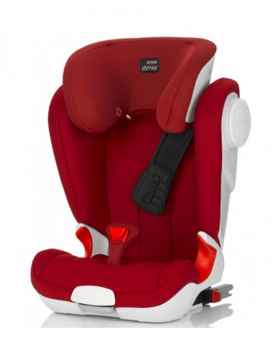 Детское автокресло Britax Roemer Kidfix II XP SICT (группа 2-3, от 15 до 36 кг) Flame Red