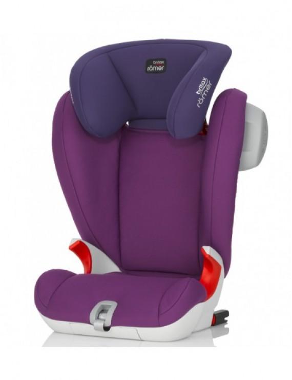 Детское автокресло Britax Roemer Kidfix SL SICT (группа 2-3, от 15 до 36 кг) Mineral Purple