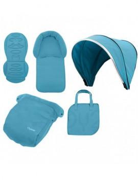 Набор цветных вставок Colour pack для колясок Oyster2/MAX Deep Topaz