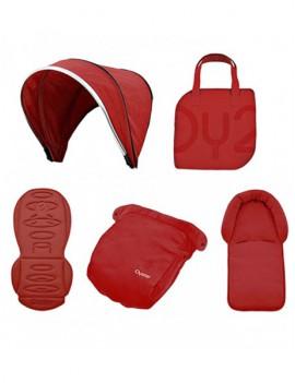 Набор цветных вставок Colour pack для колясок Oyster2/MAX Tango Red